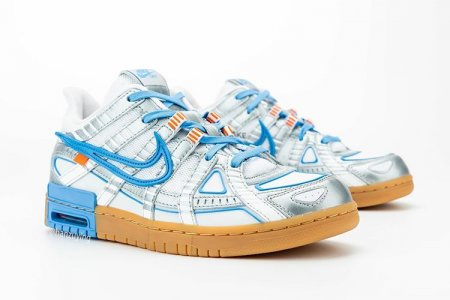 Off-White™ × NIKE AIR RUBBER DUNK 3色展開で発売か