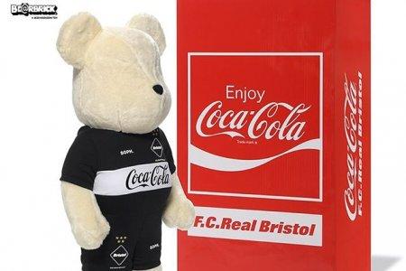 F.C.Real Bristol × コカ・コーラコラボよりBE@RBRICKが登場