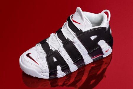 "NIKE AIR MORE UPTEMPO ""WHITE/BLACK"" 6/23(火)に再販決定"