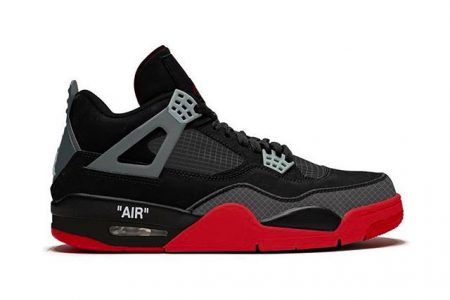"NIKE AIR JORDAN 4 ""BRED"" × Off-White™ 9月中発売か"