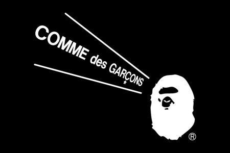 A BATHING APE® × COMME des GARCONS コラボ第2弾が7/23(木)発売