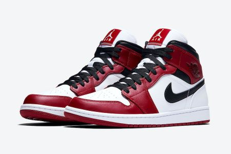"NIKE AIR JORDAN 1 MID ""CHICAGO"" カラーが近日発売"