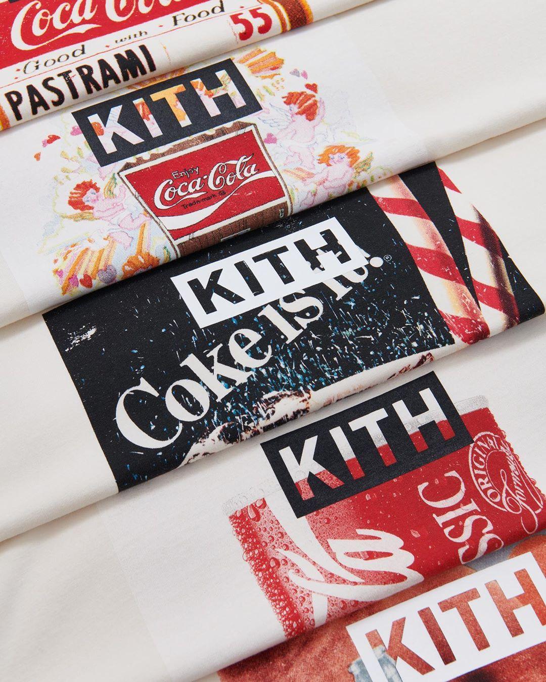 KITH  × Coca Cola
