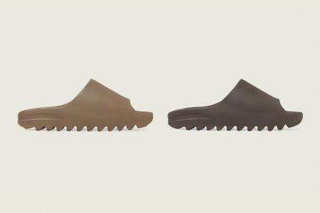 "adidas YEEZY  SLIDES ""CORE""&""SOOT"" 9/4(金) 発売"