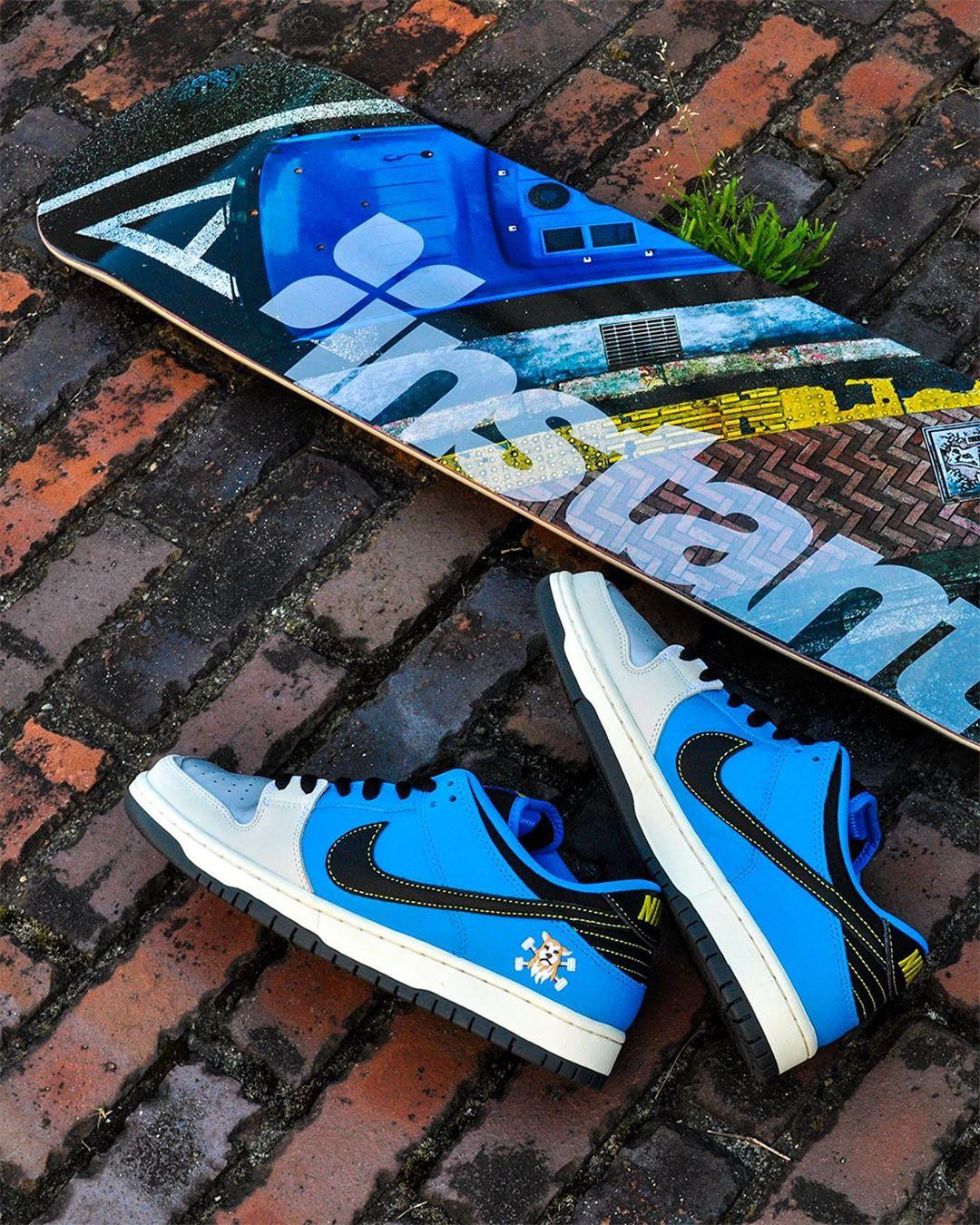 NIKE SB DUNK LOW × instant skateboards