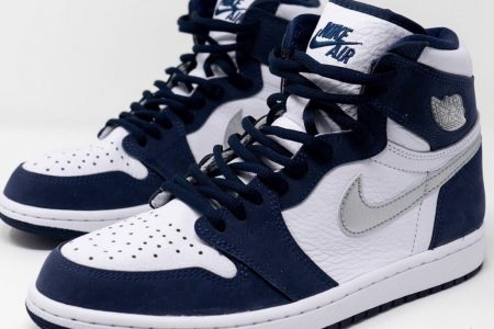 "NIKE AIR JORDAN 1 HIGH CO.JP ""MIDNIGHT NAVY"" 10/31(土)発売"