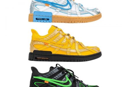 Off-White™ × NIKE AIR RUBBER DUNK 10/1(木)発売か