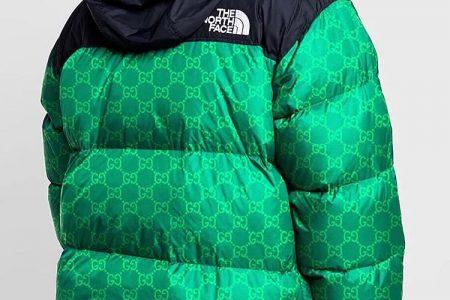 GUCCI x THE NORTH FACE のコラボダウンのビジュアル画像が公開