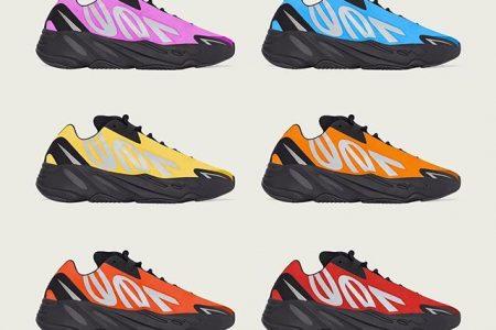 adidas YEEZY BOOST 700 MNVN 新作カラーラインナップが公開