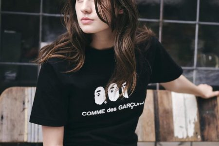 A BATHING APE® × COMME des GARÇONS のコラボコレクション10/24(土)発売