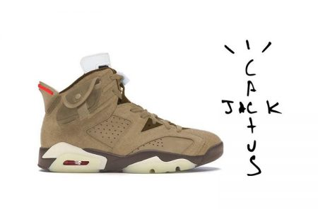 "NIKE  AIR JORDAN 6  ""KHAKI"" × Travis Scott 2021年春頃登場予定"