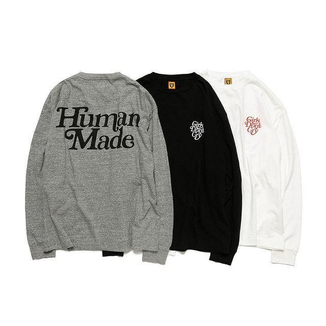 HUMAN MADE × Girls Don 't Cry