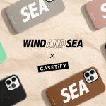 <販売店記載>WIND  AND  SEA × CASETiFY コラボアイテム11/20(金)発売