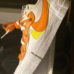"Sacai x Nike Blazer Low ""Orange"" が2021/2月頃発売か"