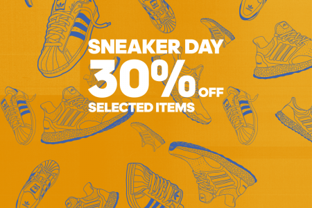 adidas SNEAKER DAY 人気スニーカーが期間限定で30%OFF!