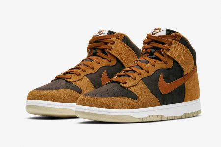"<販売店記載>NIKE  DUNK HIGH ""DARK RUSSET""  2/5(金)発売"