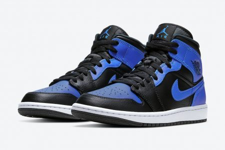 "<販売店記載>NIKE AIR JORDAN 1 MID  ""HYPER ROYAL""2/5(金)発売"