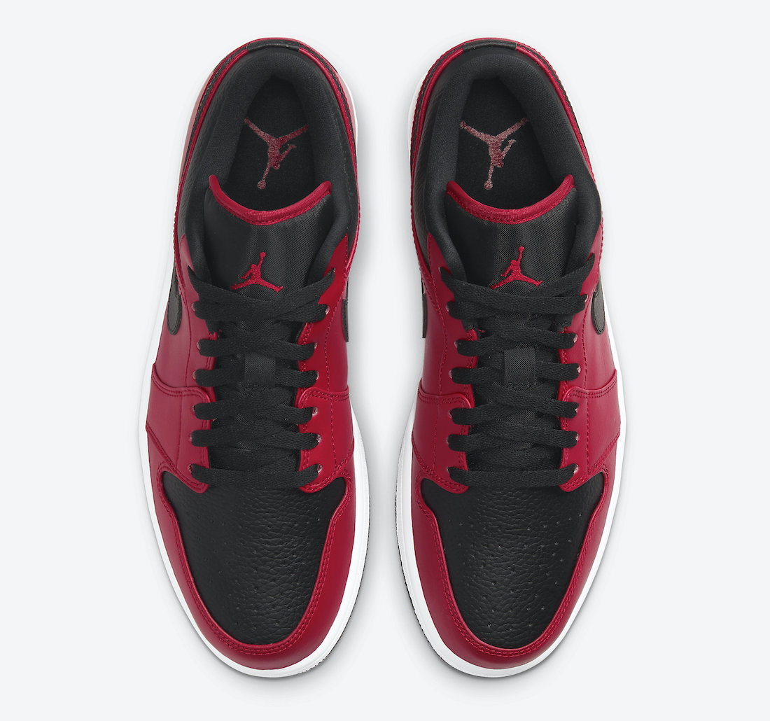 "NIKE AIR  JORDAN 1 LOW  ""GYM RED"""