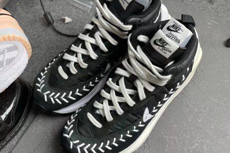 Sacai x Nike x Jean-Paul Gaultier コラボスニーカーのビジュアル画像がリーク