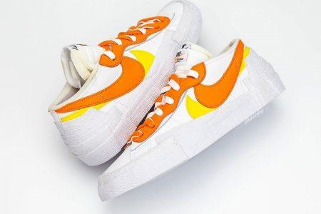 Sacai (サカイ) x Nike Blazer Low が2021/2月頃発売か
