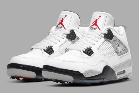 "NIKE AIR JORDAN  4 GOLF ""WHITE CEMENT"" 年内発売予定"