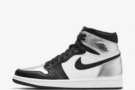 "<販売店記載>NIKE AIR JORDAN 1 HIGH  ""SILVER  TOE"" 2/12(金)発売"