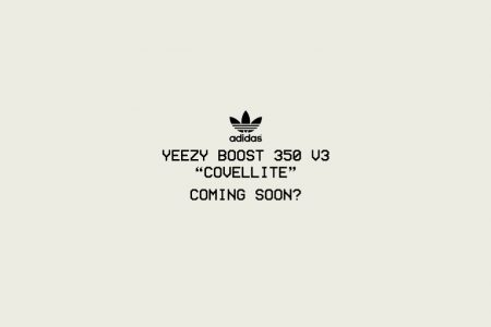 "adidas YEEZY  BOOST 350 ""V3"" いよいよ3月にお披露目か"