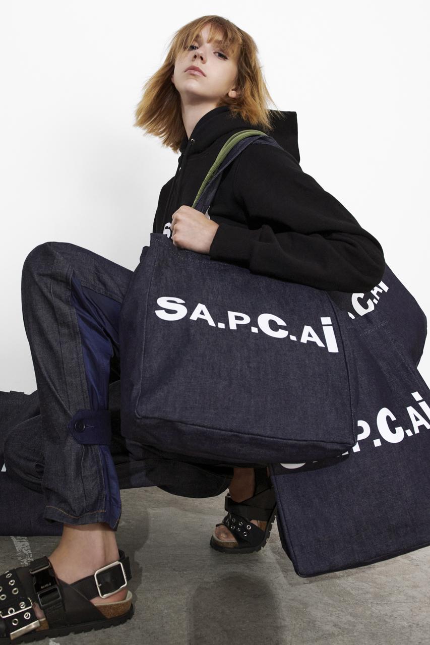 A.P.C. × sacai