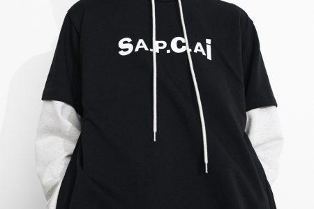 <販売店記載>A.P.C. × sacai コラボコレクションが3/19(金)登場