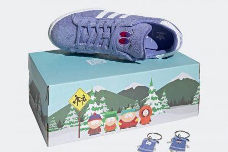 """<販売店記載>adidas CAMPUS 80s """"SOUTH PARK""""コラボが4/20(火)発売"""