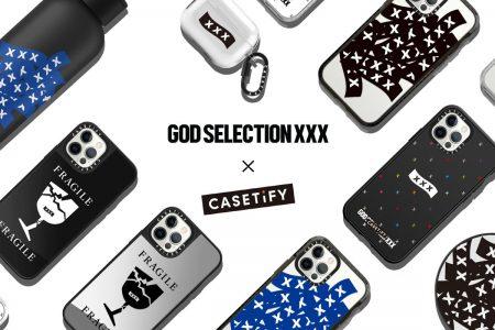 <販売店記載>GOD SELECTION XXX × CASETiFYコラボ再び!7/16(金)発売