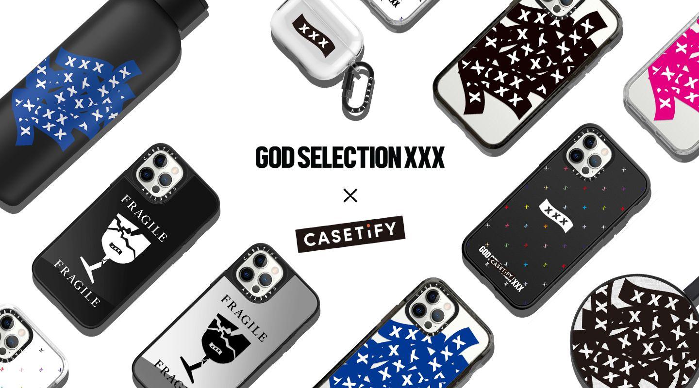 GOD SELECTION XXX × CASETiFY