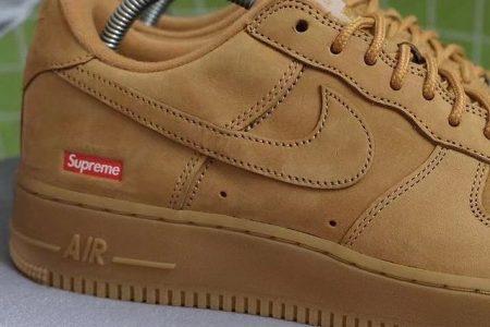 """Supreme x Nike Air Force 1 """"Flax"""" 秋冬に登場か"""