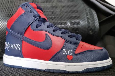 """Supreme x NIKE SB DUNK HIGH """"By Any Means"""" ファーストルック画像が公開"""