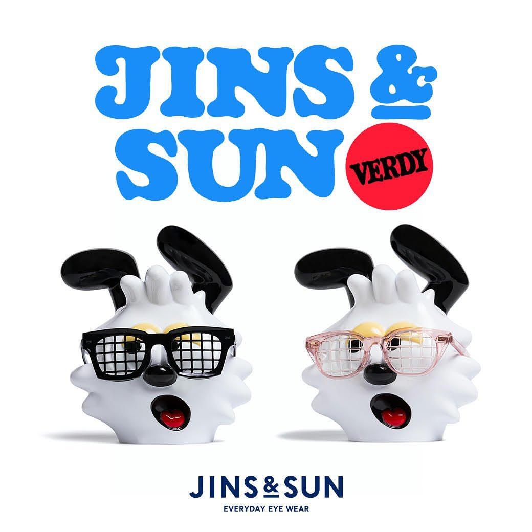 JINS&SUN X VERDY