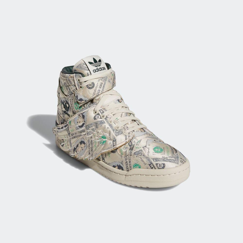 EREMY SCOTT × adiads FORUM WINGS 1.0 MONEY