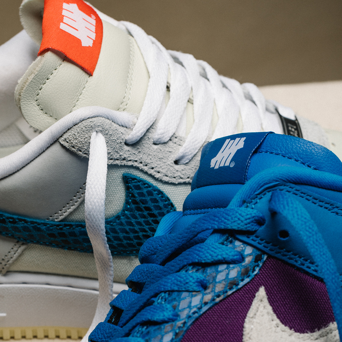 NIKE DUNK LOW SP & AIR FORCE 1 LOW SP