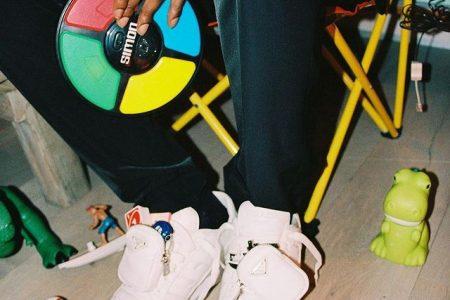 A$AP Rocky がadidas × PRADA 最新コラボスニーカーを着用!近日発売か